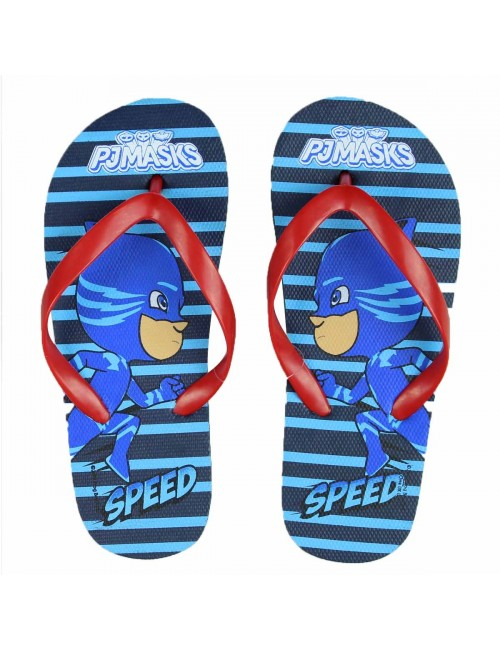 Papuci plaja, Pisoi PJ Masks, 26 - 33, albastru