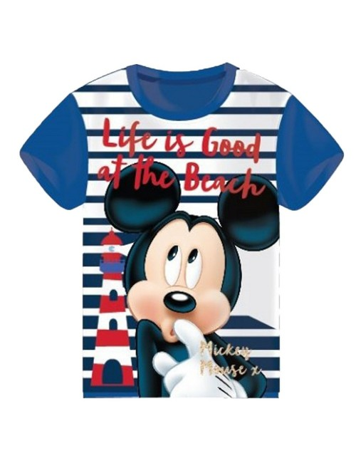Tricou Mickey Mouse - Life is good.., copii 2 - 6 ani