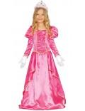 Rochie lunga, Printesa roz, 5-6 ani