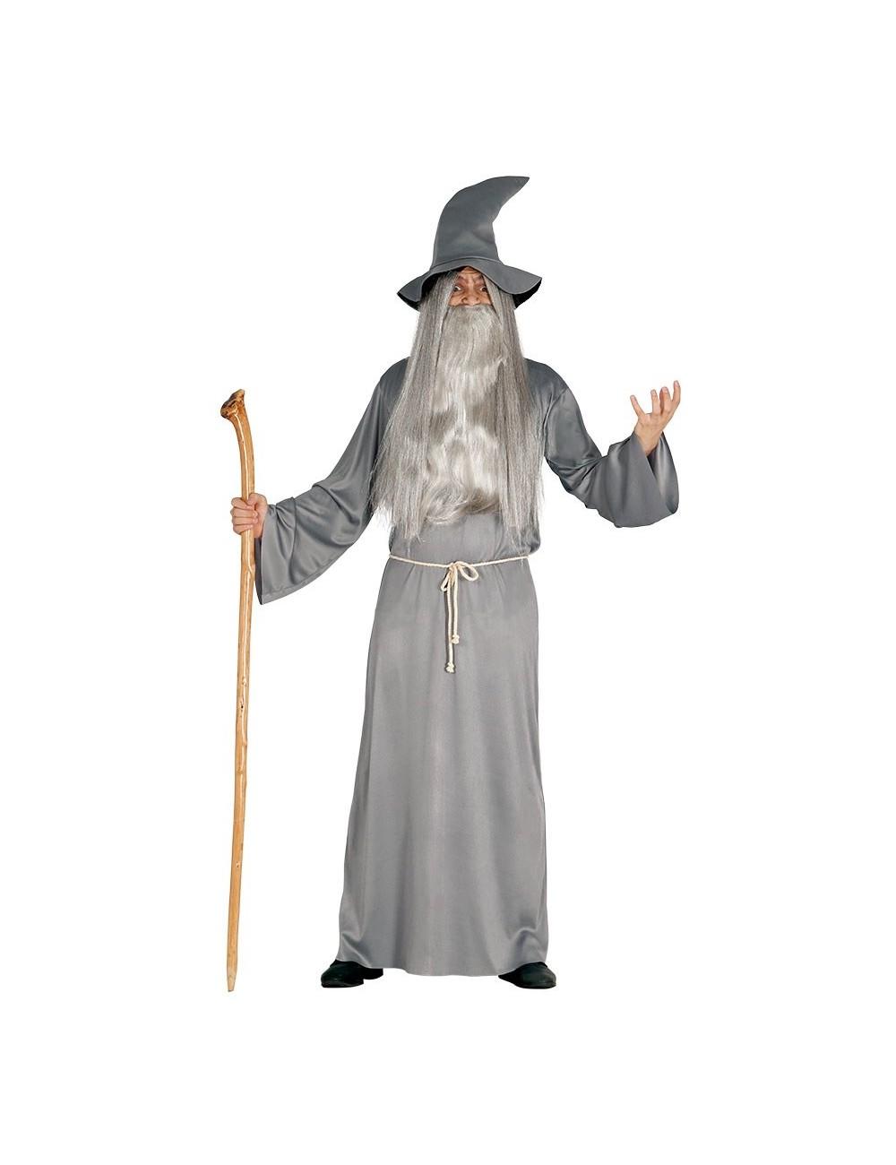 Costum Magician Gandalf adult, 52-54