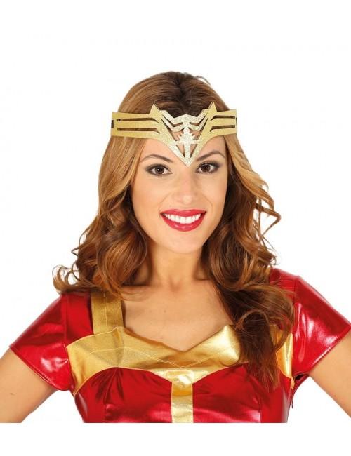 Diadema aurie Super-eroina