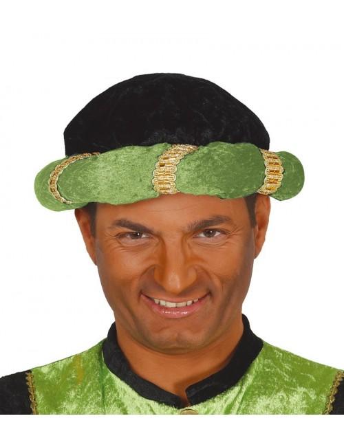 Turban Mag vestitor / Print arab, verde