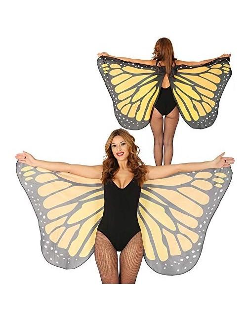 Aripi fluture galben, 170 x 80 cm