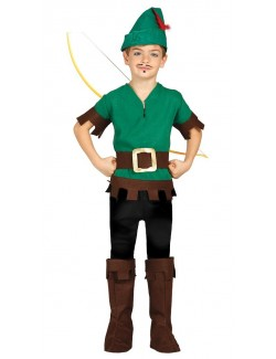 Costum Robin Hood/ Vanator, copii 5 - 12 ani