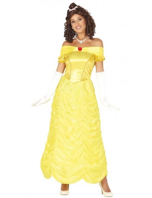 Rochie galbena Printesa, pentru femei