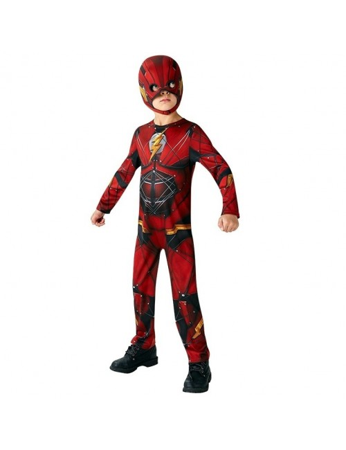 Costum Flash Justice League, copii 3-8 ani