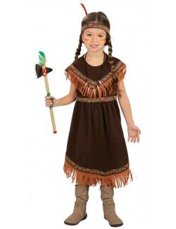 Costum Fetita Indiana, copii 5-9 ani