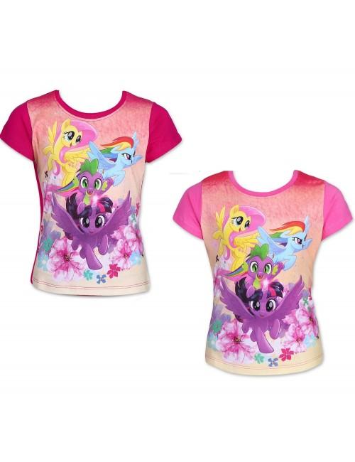 Tricou My little pony - grup, fete 2-6 ani