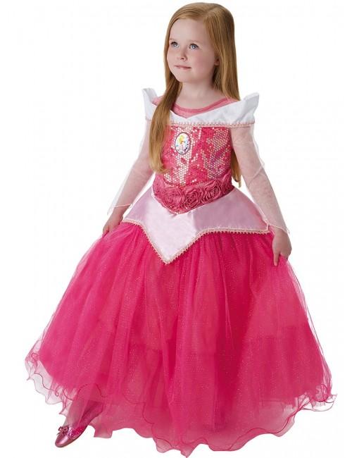Rochie Aurora Frumoasa adormita Premium, 5-8 ani