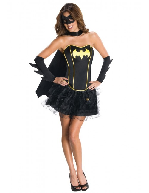 Costum Batgirl corset, pentru femei
