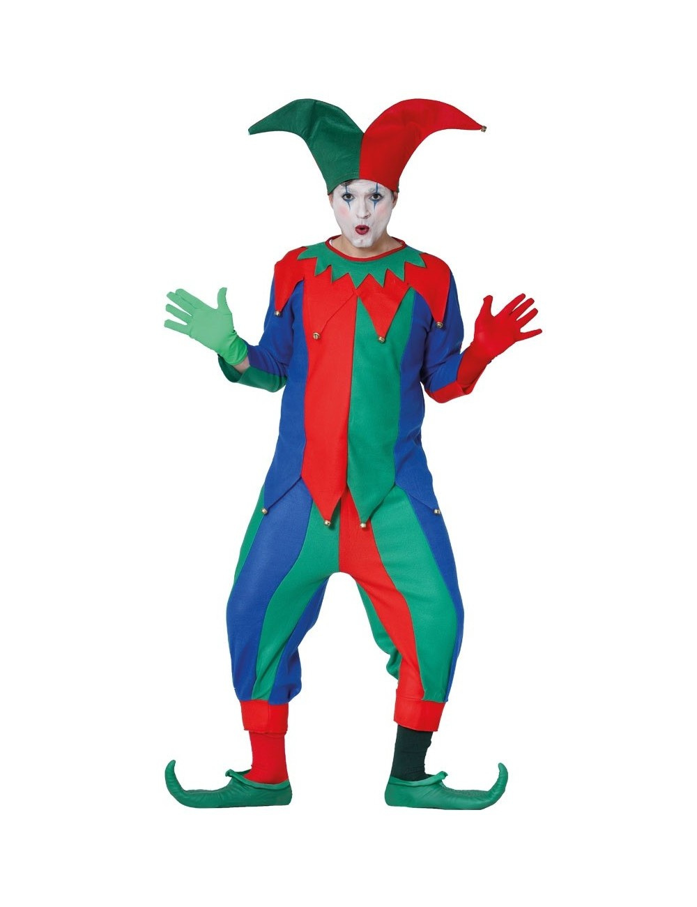 Costum Arlechin / Joker adulti, 48-50