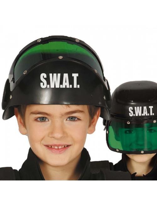 Cască luptator SWAT, pentru copii