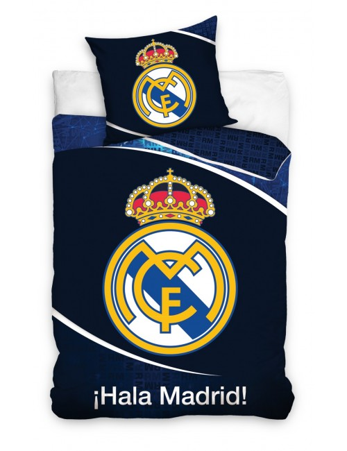 Lenjerie de pat Real Madrid, bleumarin, 140 x 200 cm