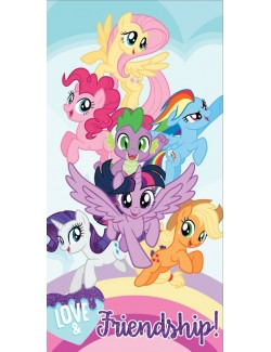 Prosop plaja My little Pony Friendship, 70 x 140 cm