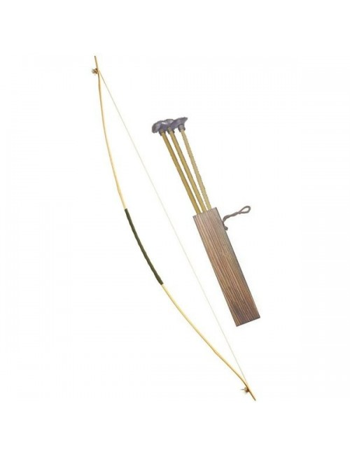 Arc cu 3 sageti, 100 cm, pentru adulti