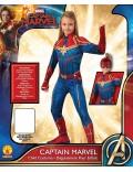 Costum Captain Marvel Hero unisex. copii 3-8 ani