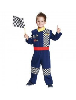 Costum Pilot de curse Formula 1, 128-140 cm