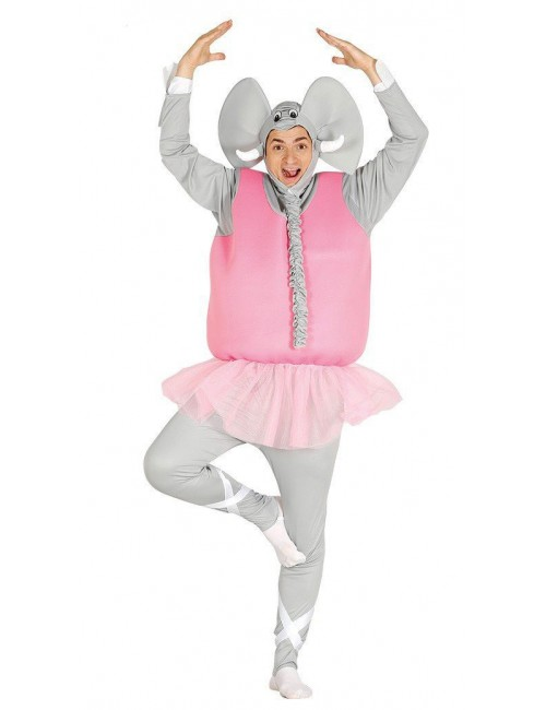 Costum carnaval adulti Elefant dansator, 48-50