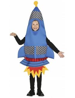 Costum Racheta spatiala, copii 3-6 ani