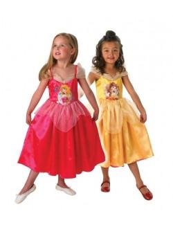 Rochie carnaval reversibila, Belle si Aurora, 7-8 ani