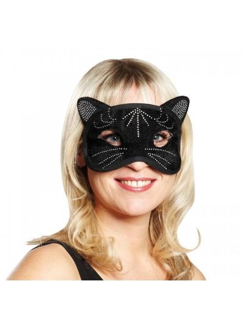 Masca Pisica Neagra, catifea