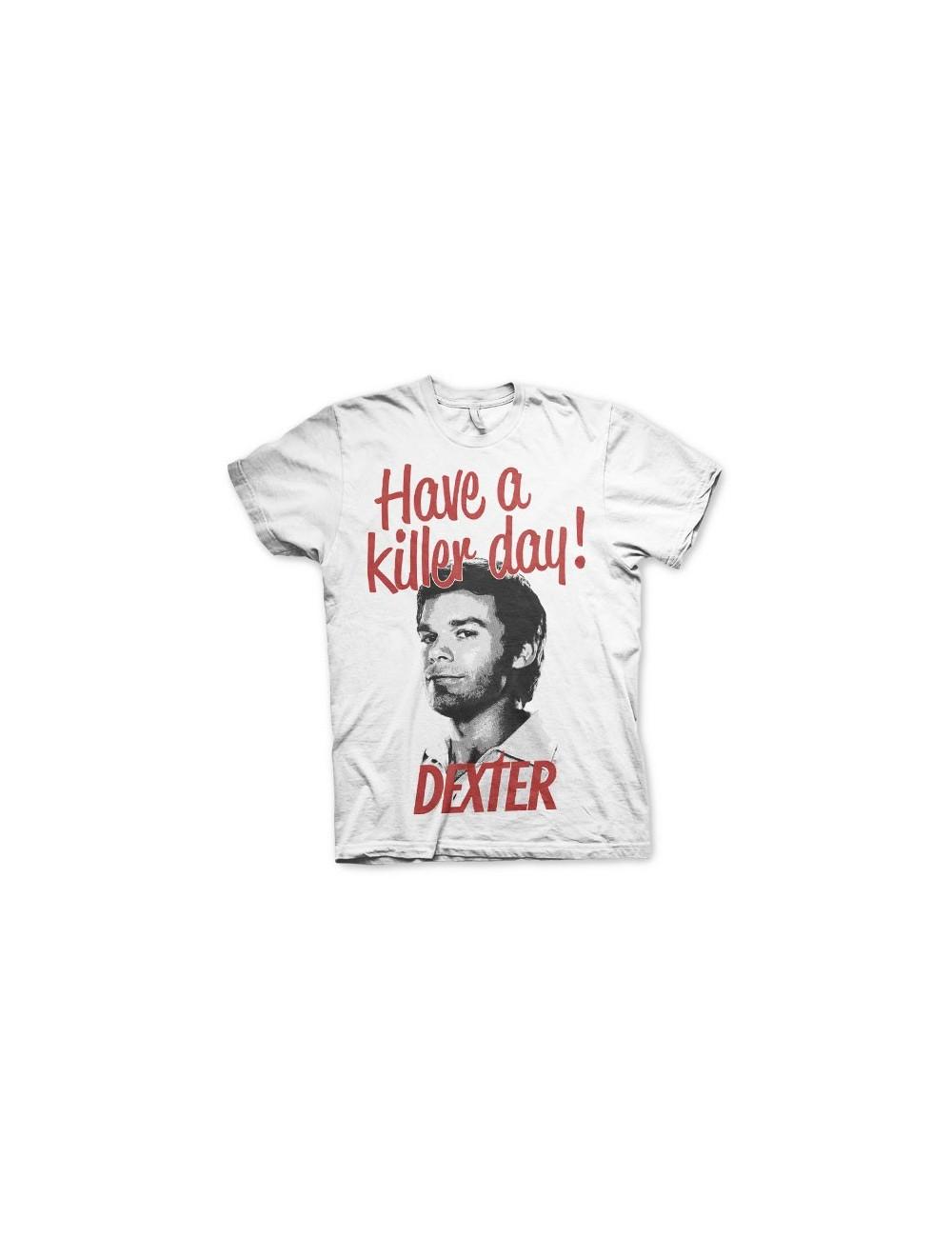 Tricou maneca scurta barbati, Dexter Killer Day