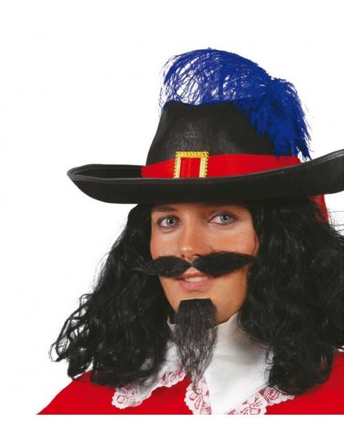 Mustată și barbă de muschetar