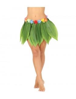 Fusta Hawaiiana cu frunze verzi, 36 cm