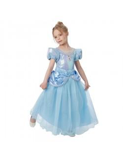 Rochie Cenusareasa Premium, copii 3-8 ani