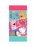 Prosop baie Peppa Pig Sing with us, 70 x 140 cm