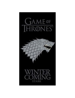 Prosop Game of Thrones Stark Winter is coming, 70 x 140 cm