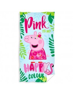 Prosop plaja Peppa Pig Happy Colour, 70 x 140 cm