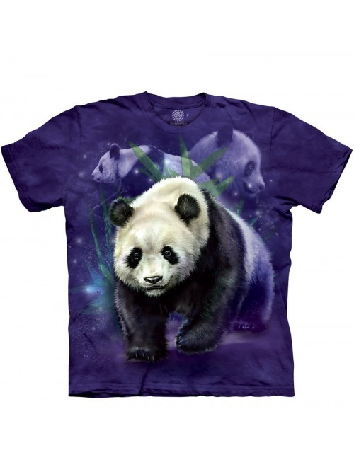 Tricou Panda Collage, copii 7-9 ani