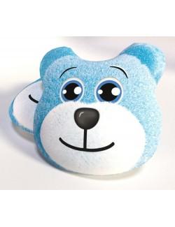Perna decor Urs bleu, 33 x 33 cm