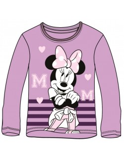 Bluza copii, Minnie Mouse, mov, 3-8 ani
