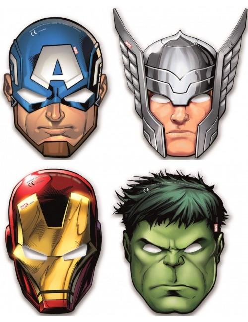 Set 6 masti party, super-eroi Avengers
