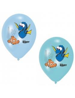 Set 6 baloane Pestisorul Nemo & Dory, 28 cm