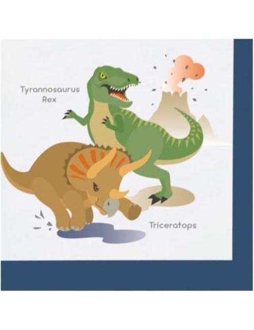 Servetele masa, Dinozauri veseli, 33 x 33 cm
