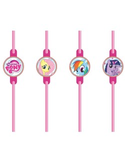 Set 8 paie bauturi, My little Pony
