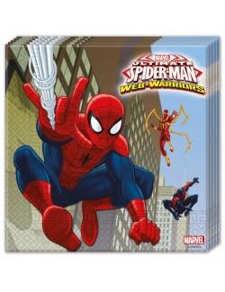 Servetele masa, Spiderman, 33x33 cm