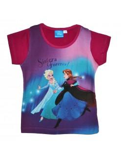 Tricou Ana si Elsa Frozen, fete 3-7 ani
