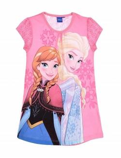 Camasa de noapte Ana si Elsa Frozen, copii 4-8 ani