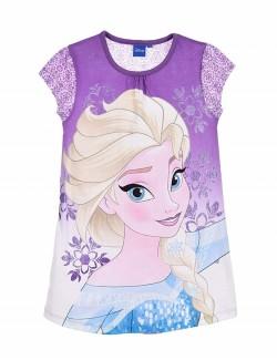 Camasa noapte Elsa Disney Frozen, mov, copii 4-8 ani