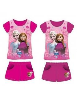 Pijama Ana si Elsa Disney Frozen, fete 3-8 ani