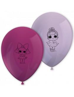 Set baloane LOL Surprise, 8 buc, 28 cm