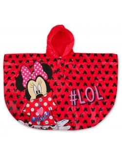 Pelerina ploaie Minnie Mouse, rosie, copii 2-6 ani