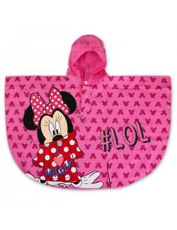 Pelerina ploaie Minnie Mouse, copii 2-6 ani, roz