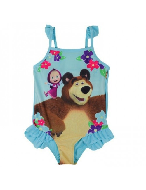 Costum baie, Masha si Ursul, fete 3-8 ani