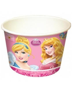 Set 8 cupe inghetata, Printese Disney, 200 ml