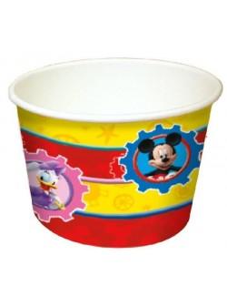 Set 8 cupe inghetata, Mickey Mouse, 200 ml